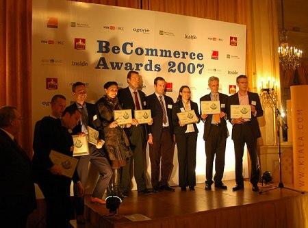 BeCommerce Awards 2007 Winnaars